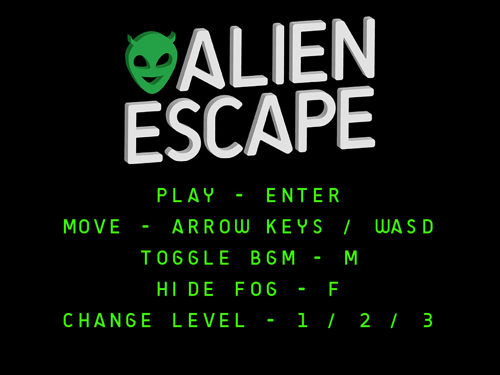Alien Escape is a turn based, action and strategy game built in HTML5.