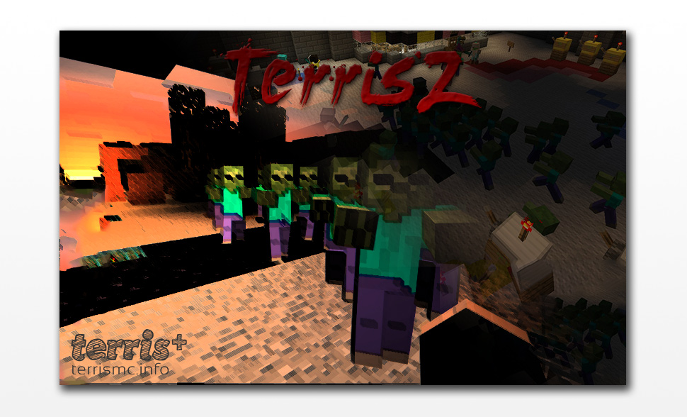 Second concept poster for the TerrisZ zombie survival server.
